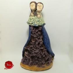 Família em cerâmica