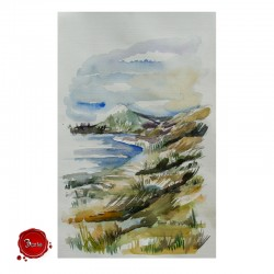 Watercolor: Moledo