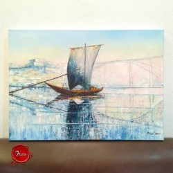 Rabelo Boat Painting