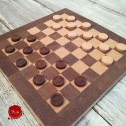 Cork checkers
